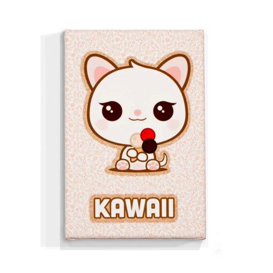 focu-foto-cuadro-kawai-gato